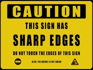 Warning sign 6