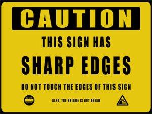 Warning sign 6