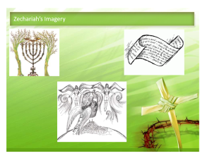 Zechariah imagery