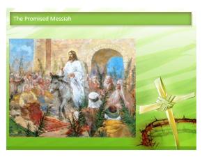 Zechariah Palm Sunday
