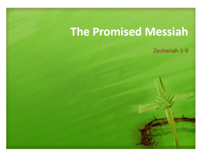 Zechariah title