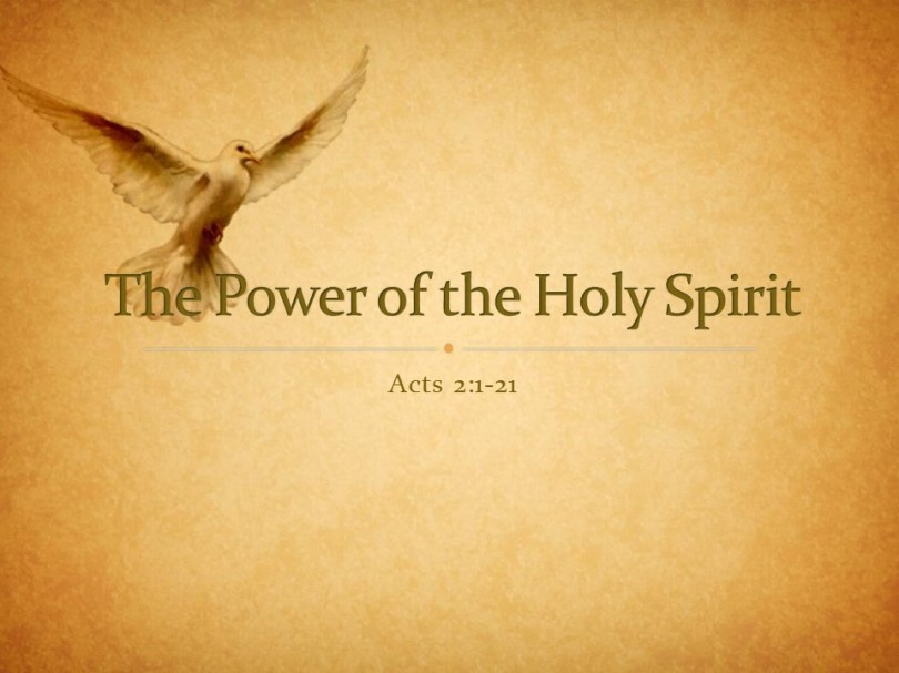 Holy Spirit – Chasing the Wind